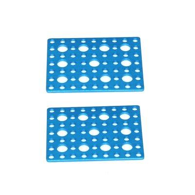 Pair Makeblock Bracket P1-Blue