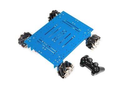 Mecanum Wheel Robot Kit - ZONDER Orion en afstandsbediening
