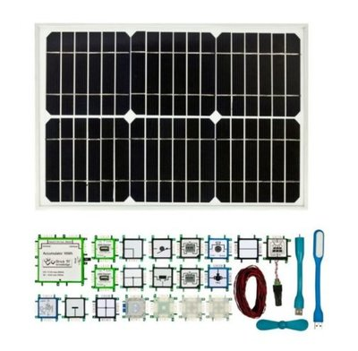 Brick'R'knowledge Solar Set