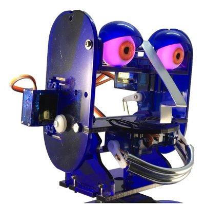 Lichtgevende ogen voor Ohbot 2