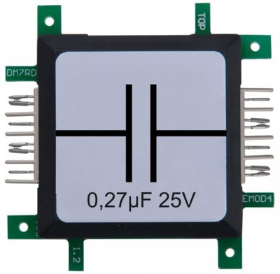 Brick'R'knowledge Condensator 0.27µF 25V