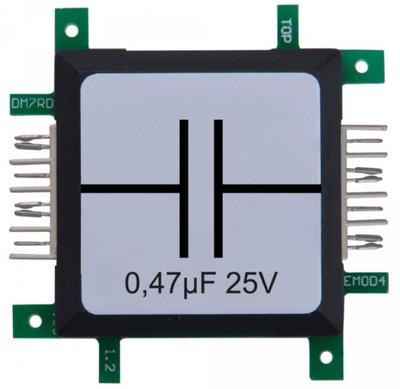 Brick'R'knowledge Condensator 0.47µF 25V