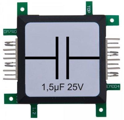 Brick'R'knowledge Condensator 1.5µF 25V