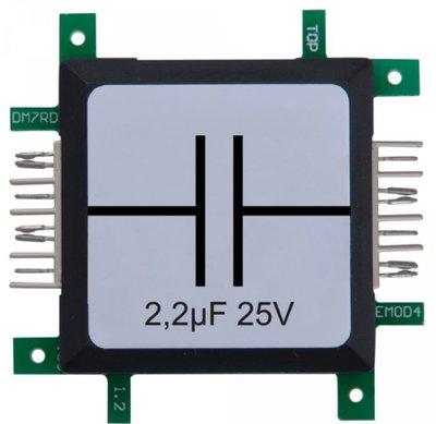 Brick'R'knowledge Condensator 2.2µF 25V