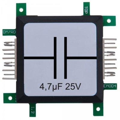 Brick'R'knowledge Condensator 4.7µF 25V