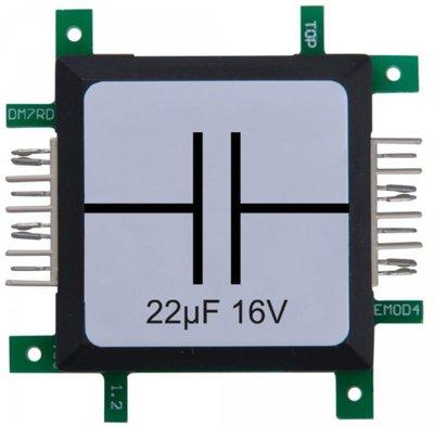 Brick'R'knowledge Condensator 22µF 16V