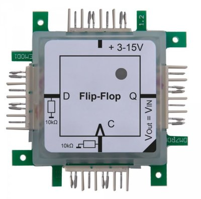 Brick'R'knowledge Logic D Flip-Flop
