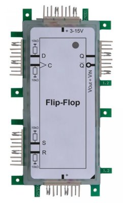 Brick'R'knowledge Logic D Flip-Flop 2x1