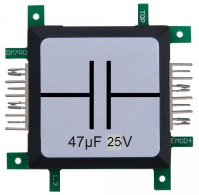 Brick'R'knowledge Condensator 47µF 25V