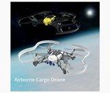 Airborne cargo drone Mars_
