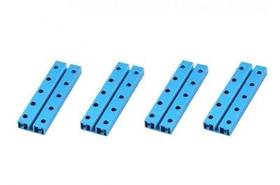 Balk 0824-080-Blauw(4 stuks)
