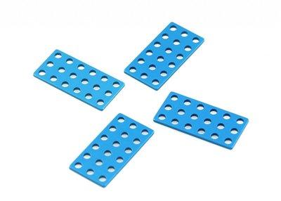 Plaat 3*6-Blauw (4 stuks)