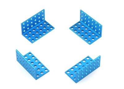 Bracket 3*6-Blauw (4 stuks)