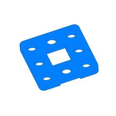 Riem Connector - Blauw (2 stuks)