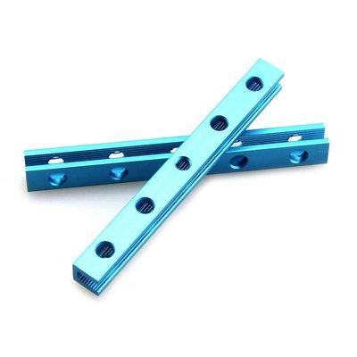 Draad Aandrijving Balk M4x80 - Blauw (2 stuks)