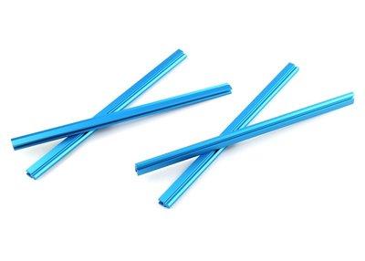 Schuifbalk 256 - Blauw (4 stuks)