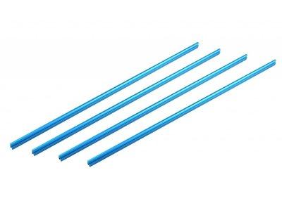 Schuifbalk 496 - Blauw  (4 stuks)
