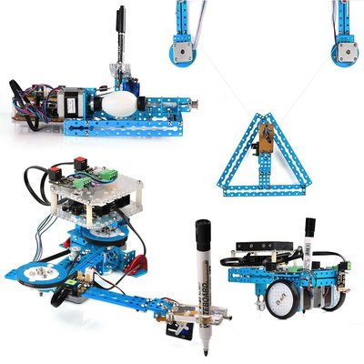 mDrawBot with laser kit-Blue