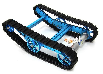 Advanced Robot Kit-Blue(No Electronics)