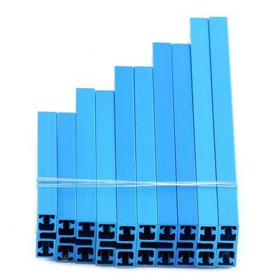 Balkenset Kort 0824 - Blauw
