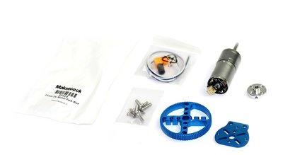 25mm DC Robot Motor Pack - Blauw