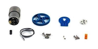 37mm DC Robot Motor Pack - Blauw