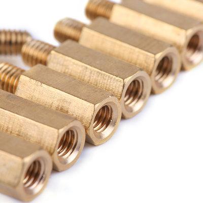 Brass Stud M4*12+6 (10-Pack)