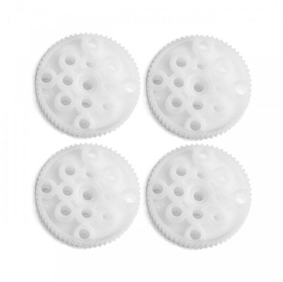 Plastic Timing Pulley 62T (4-Pack)