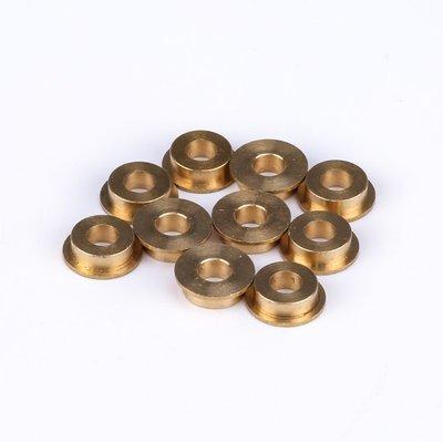 Flange Copper Sleeve 4*8*3mm (10-Pack)