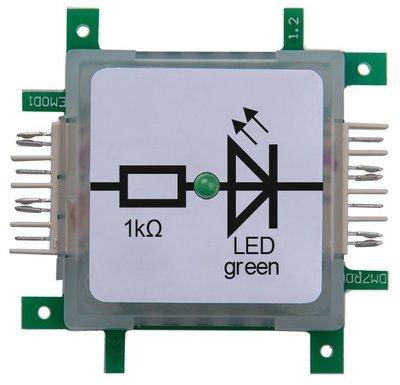Brick'R'Knowledge LED green