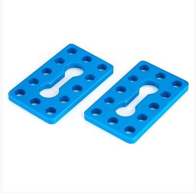 Plate 0324-040 Blue (Pair)