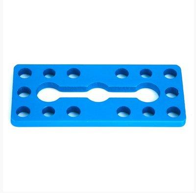 Plate 0324-056 Blue (Pair)