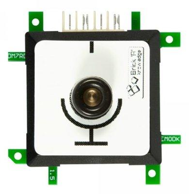 Brick'R'knowledge Meetadapter 4mm Open End GND Zwart