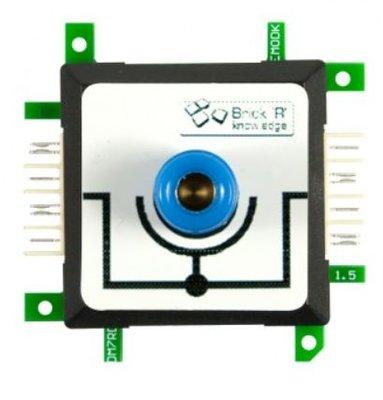 Brick'R'knowledge Meetadapter 4mm Inline Blauw