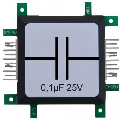 Brick'R'knowledge Condensator 0.1µF 25V