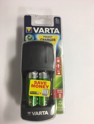 VARTA Pocket charger + 4xAA