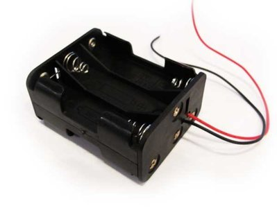 6xAA battery holder