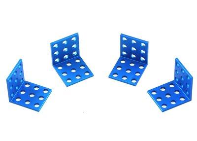 Bracket 3*3-Blauw (4 stuks)