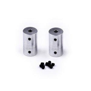 Vaste koppeling 4x6 mm (2 stuks)