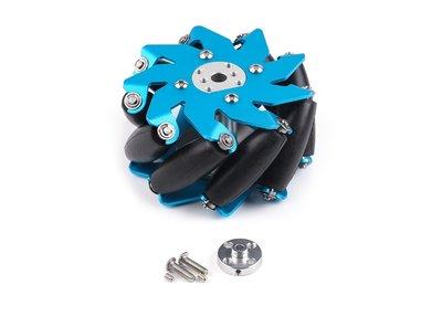 100mm Mecanum Wheel Set with 4mm Shaft Connector