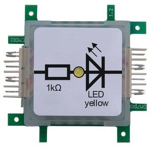 Brick'R'Knowledge LED yellow