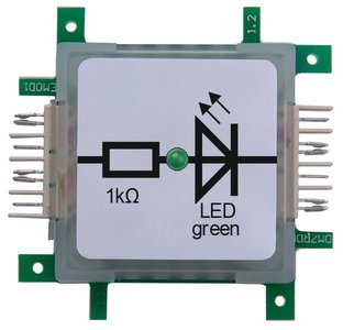 Brick'R'Knowledge LED green